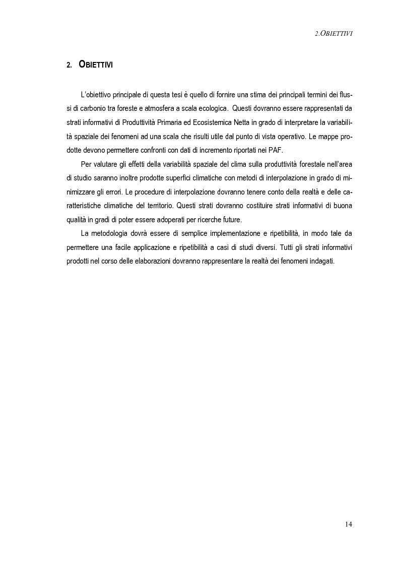 Anteprima della tesi: Metodi per una stima del bilancio del carbonio delle foreste a scala operativa: il caso della Basilicata, Pagina 10