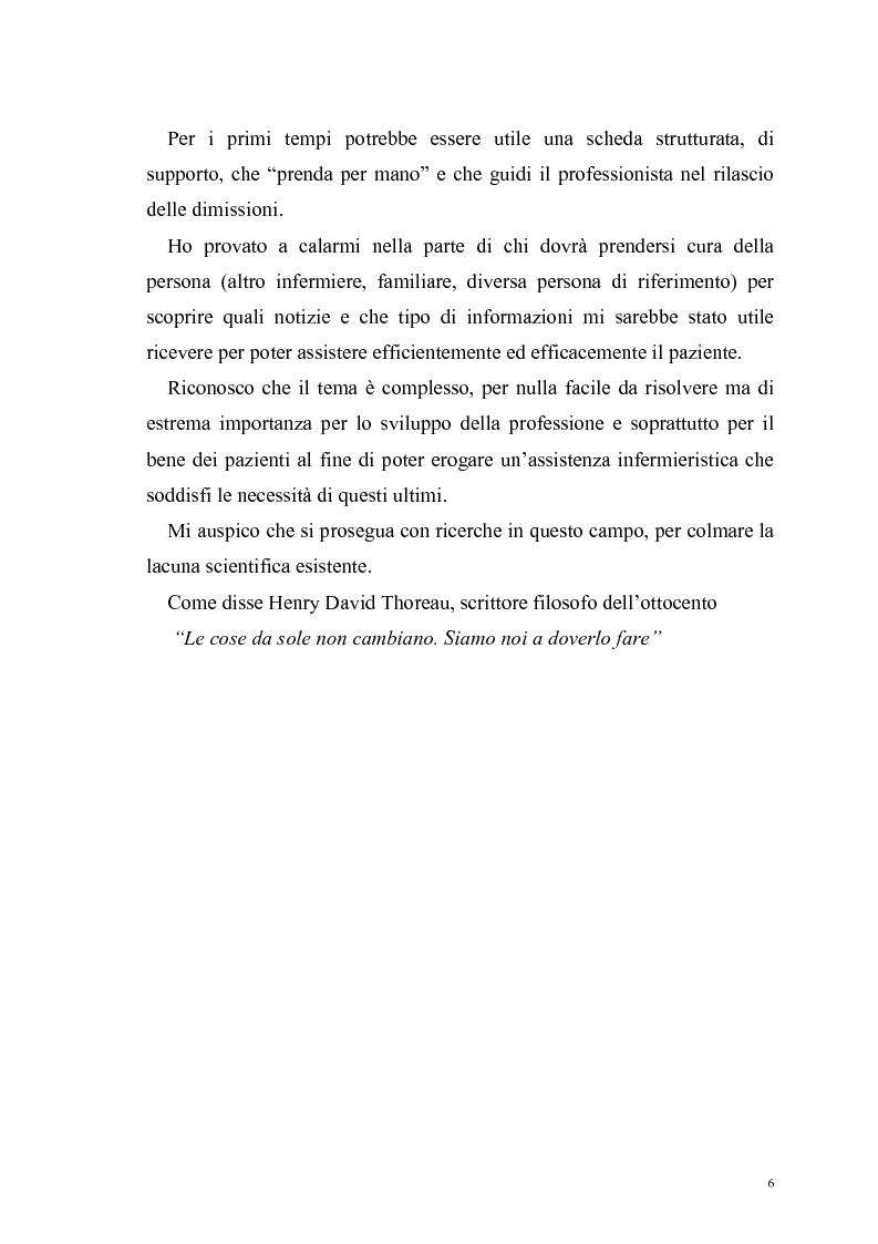 Anteprima della tesi: Ruolo dell'infermiere nella dimissione ospedaliera: un'analisi della letteratura, Pagina 3