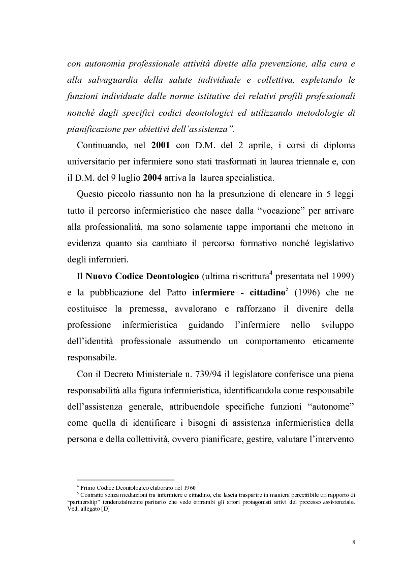 Anteprima della tesi: Ruolo dell'infermiere nella dimissione ospedaliera: un'analisi della letteratura, Pagina 5