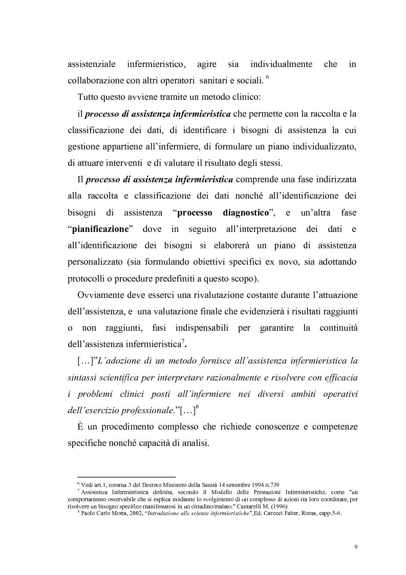 Anteprima della tesi: Ruolo dell'infermiere nella dimissione ospedaliera: un'analisi della letteratura, Pagina 6