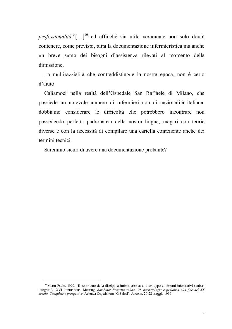 Anteprima della tesi: Ruolo dell'infermiere nella dimissione ospedaliera: un'analisi della letteratura, Pagina 9