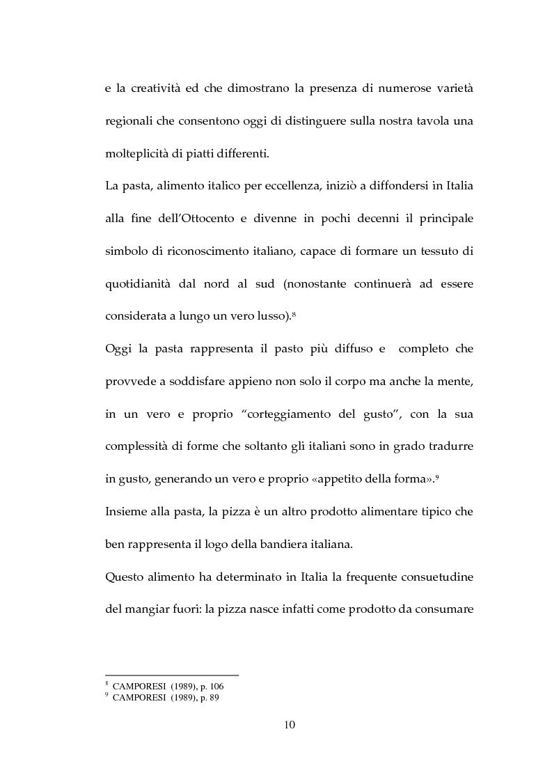 Anteprima della tesi: Percezione, target e strategie della ristorazione italiana a Pechino, Pagina 10
