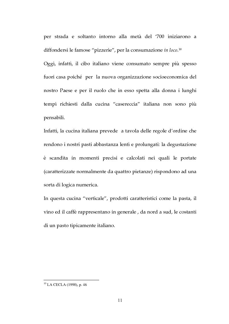 Anteprima della tesi: Percezione, target e strategie della ristorazione italiana a Pechino, Pagina 11