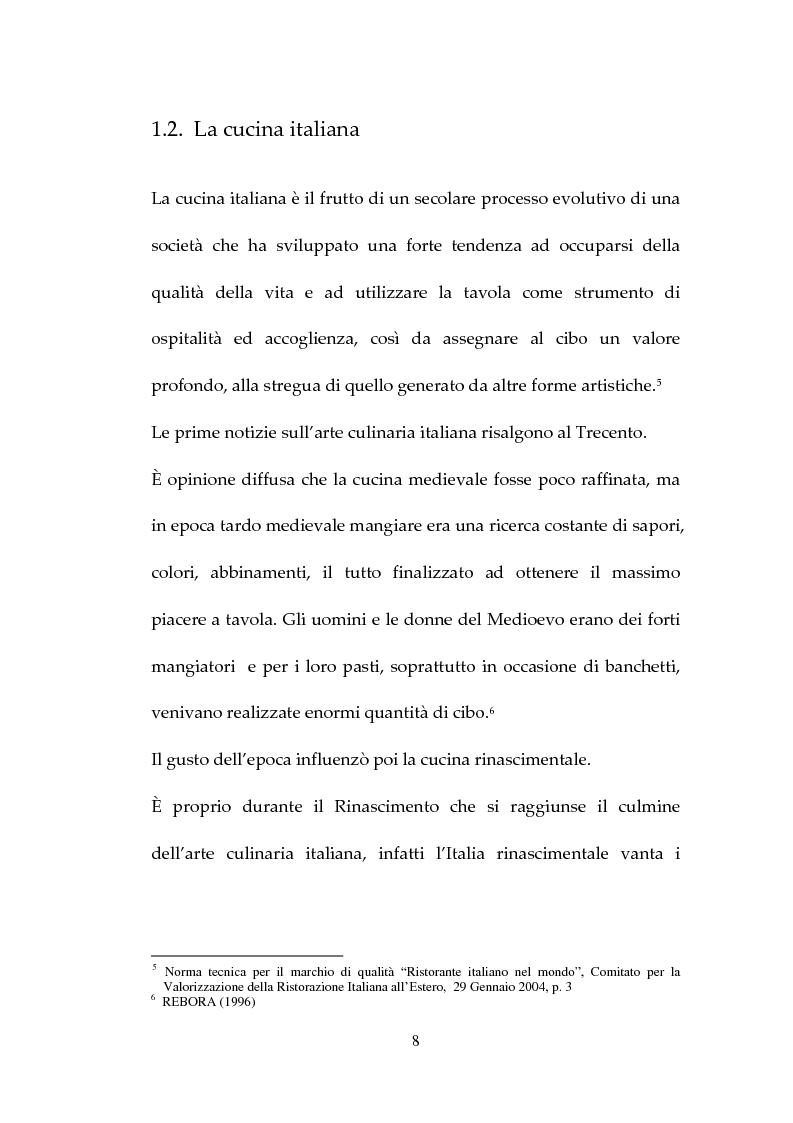 Anteprima della tesi: Percezione, target e strategie della ristorazione italiana a Pechino, Pagina 8