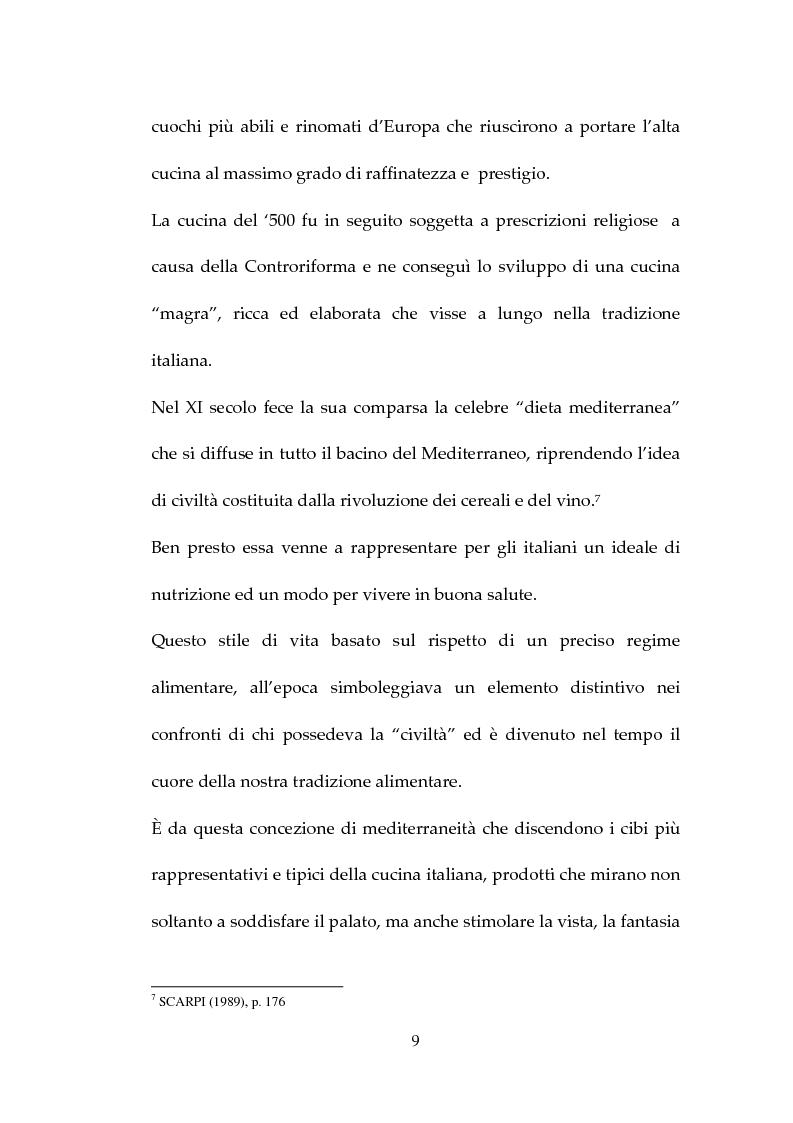 Anteprima della tesi: Percezione, target e strategie della ristorazione italiana a Pechino, Pagina 9