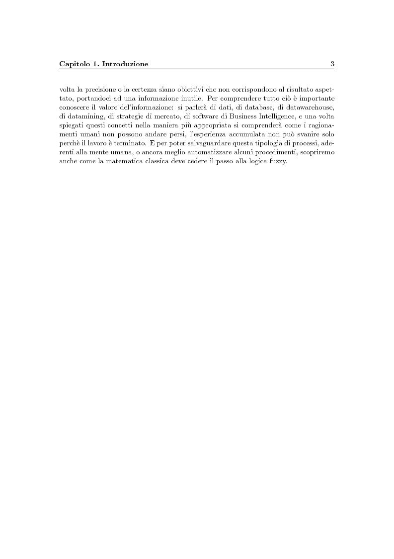 Anteprima della tesi: Problematiche della Business Intelligence, Pagina 2
