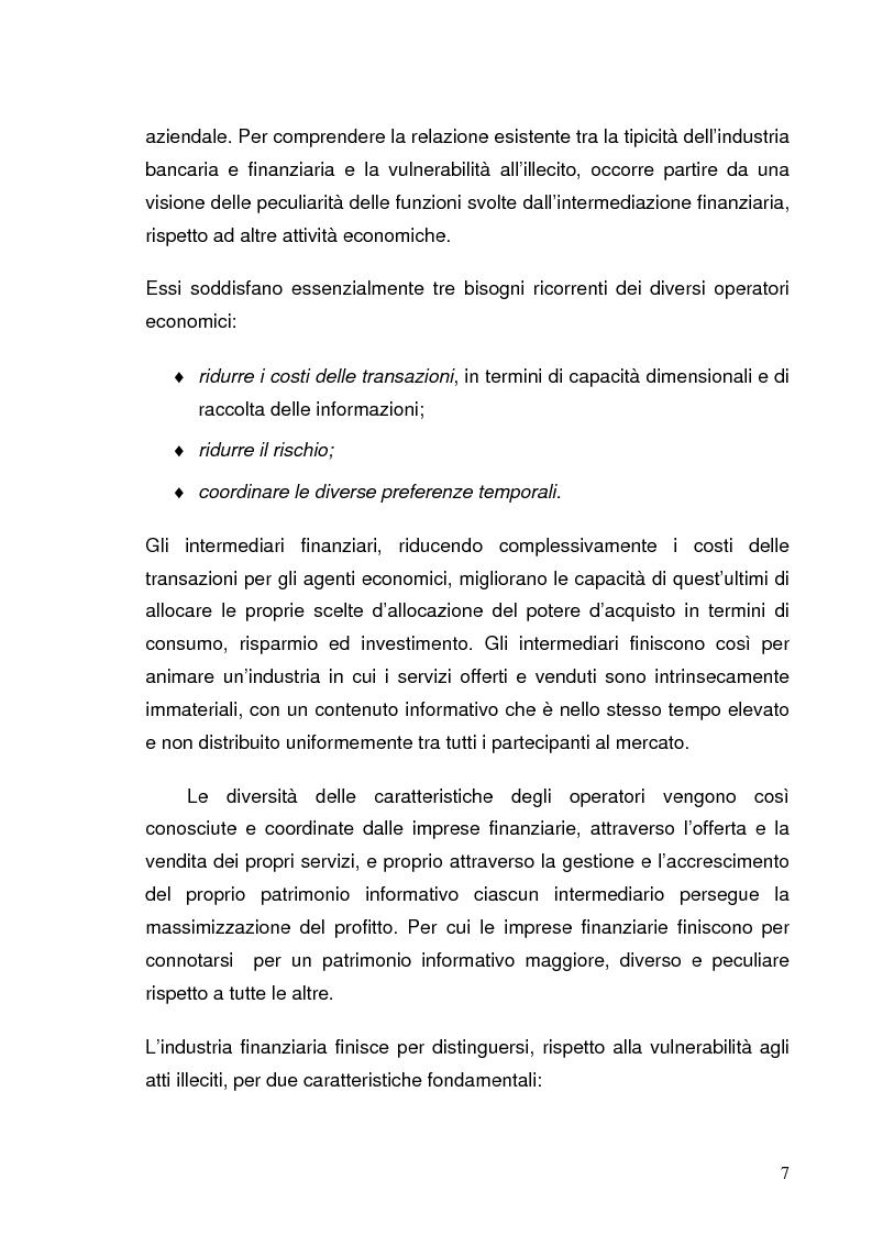Anteprima della tesi: Italia e Svizzera: parallelo sulle norme antiriciclaggio, Pagina 5