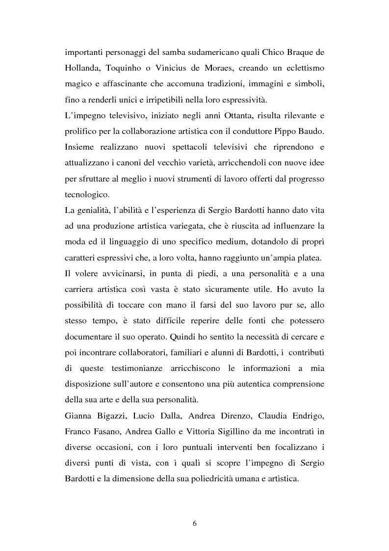 Anteprima della tesi: Sergio Bardotti: una poliedrica esperienza artistica a servizio dello spettacolo, Pagina 2