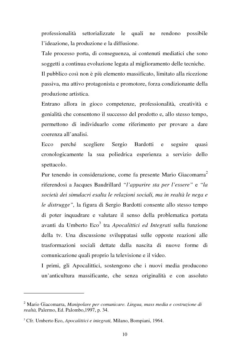 Anteprima della tesi: Sergio Bardotti: una poliedrica esperienza artistica a servizio dello spettacolo, Pagina 6