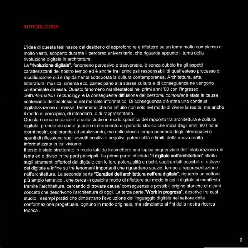 Anteprima della tesi: Sulla rivoluzione digitale in architettura, Pagina 2