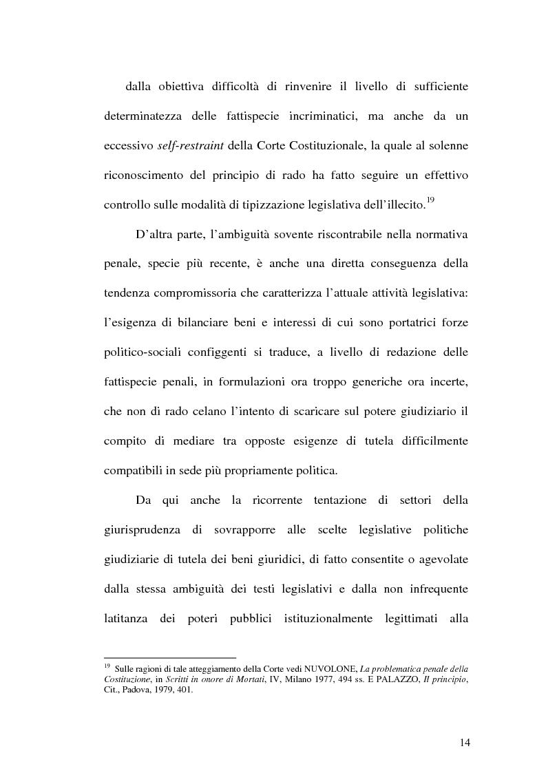 Anteprima della tesi: Il web come mezzo di consumazione dei reati in materia sessuale, Pagina 14