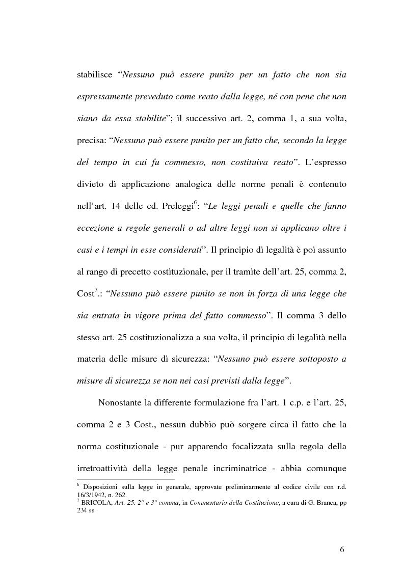 Anteprima della tesi: Il web come mezzo di consumazione dei reati in materia sessuale, Pagina 6