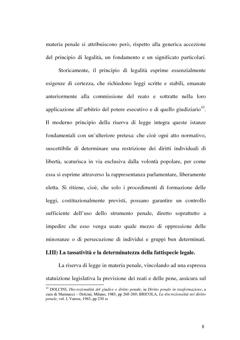 Anteprima della tesi: Il web come mezzo di consumazione dei reati in materia sessuale, Pagina 8