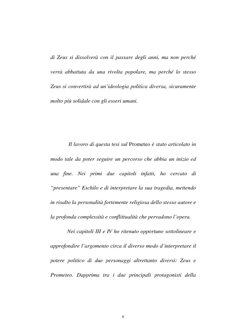 Anteprima della tesi: Elementi simbolico-politici nel ''Prometeo Incatenato'', Pagina 6