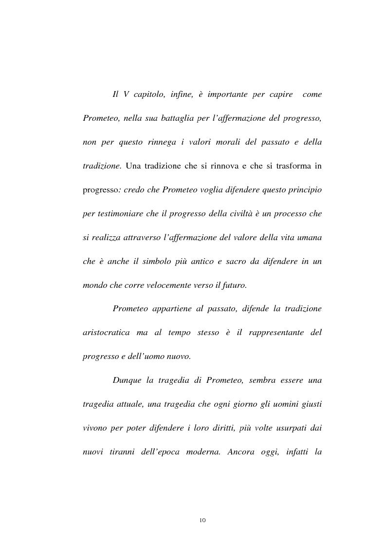 Anteprima della tesi: Elementi simbolico-politici nel ''Prometeo Incatenato'', Pagina 8