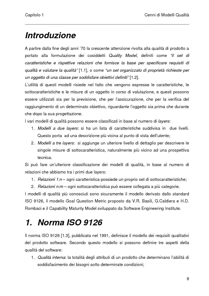 Anteprima della tesi: Predizione dei costi nei progetti software mediante l'analisi dei punti funzione e dei casi d'uso, Pagina 5