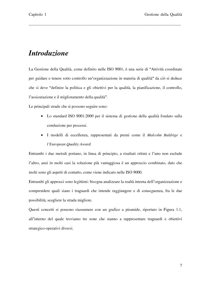 Anteprima della tesi: Sviluppo di un portale web per la gestione documentale nei sistemi ISO 9001, Pagina 4