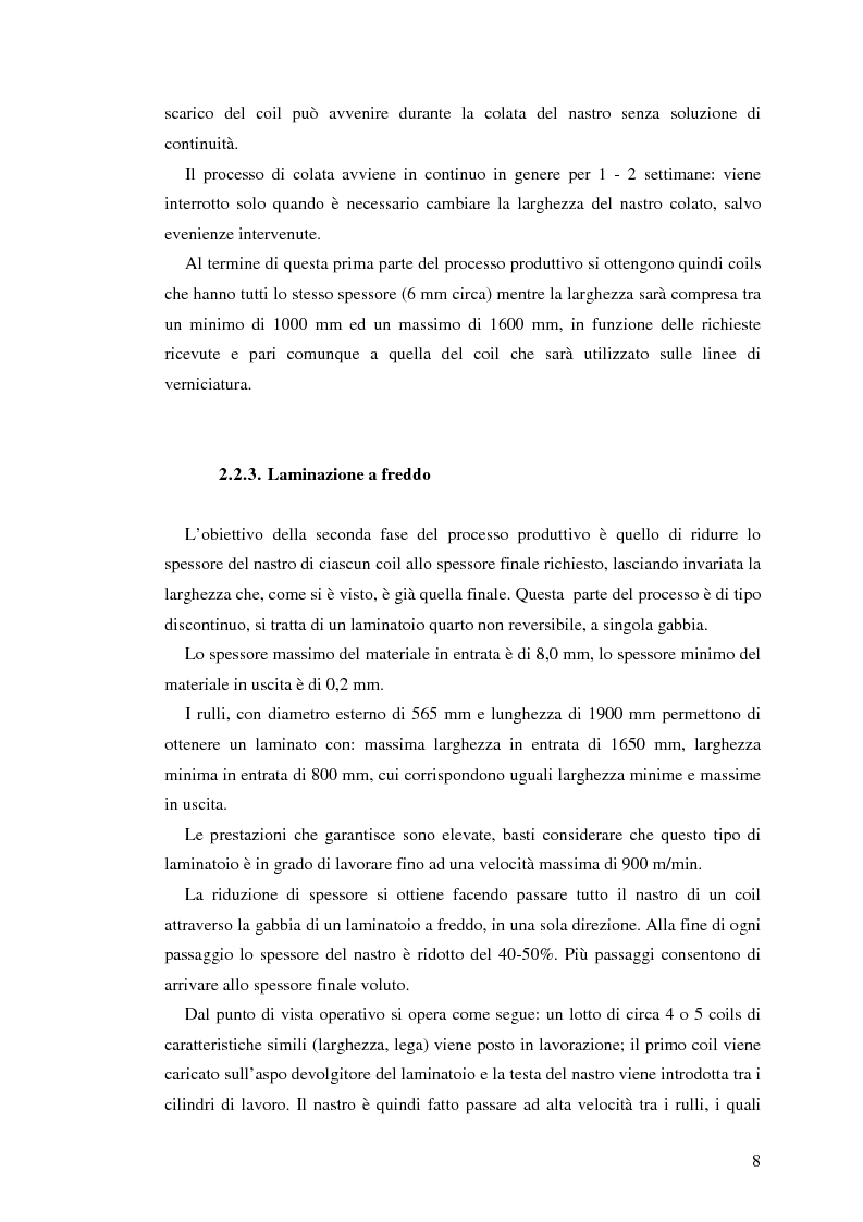Anteprima della tesi: Sistema di degasaggio e filtrazione in linea per un impianto di colata continua di alluminio, Pagina 8