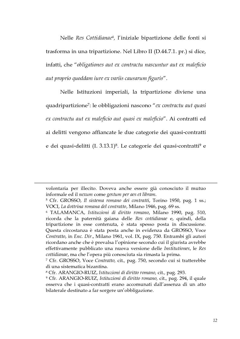 Anteprima della tesi: I contratti atipici nella recente dottrina romanistica, Pagina 10