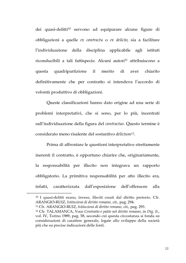Anteprima della tesi: I contratti atipici nella recente dottrina romanistica, Pagina 11