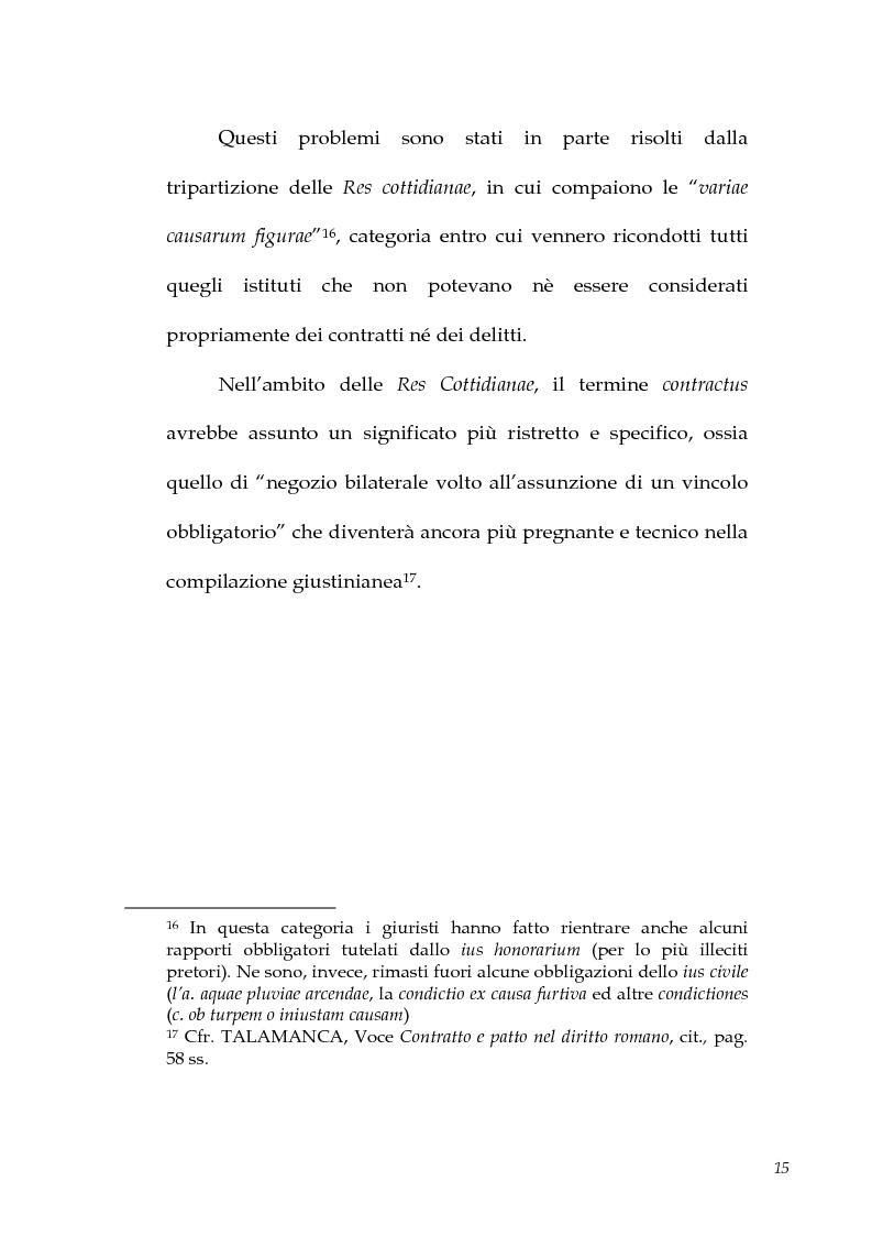 Anteprima della tesi: I contratti atipici nella recente dottrina romanistica, Pagina 13
