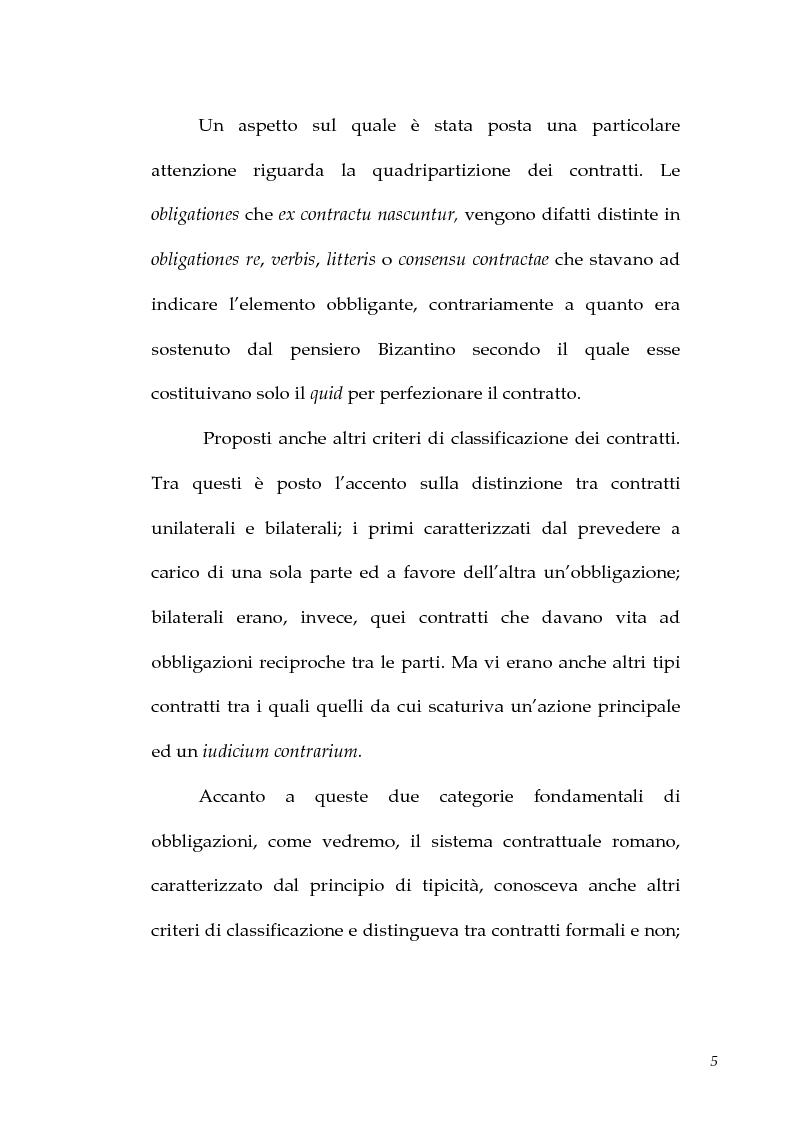 Anteprima della tesi: I contratti atipici nella recente dottrina romanistica, Pagina 3