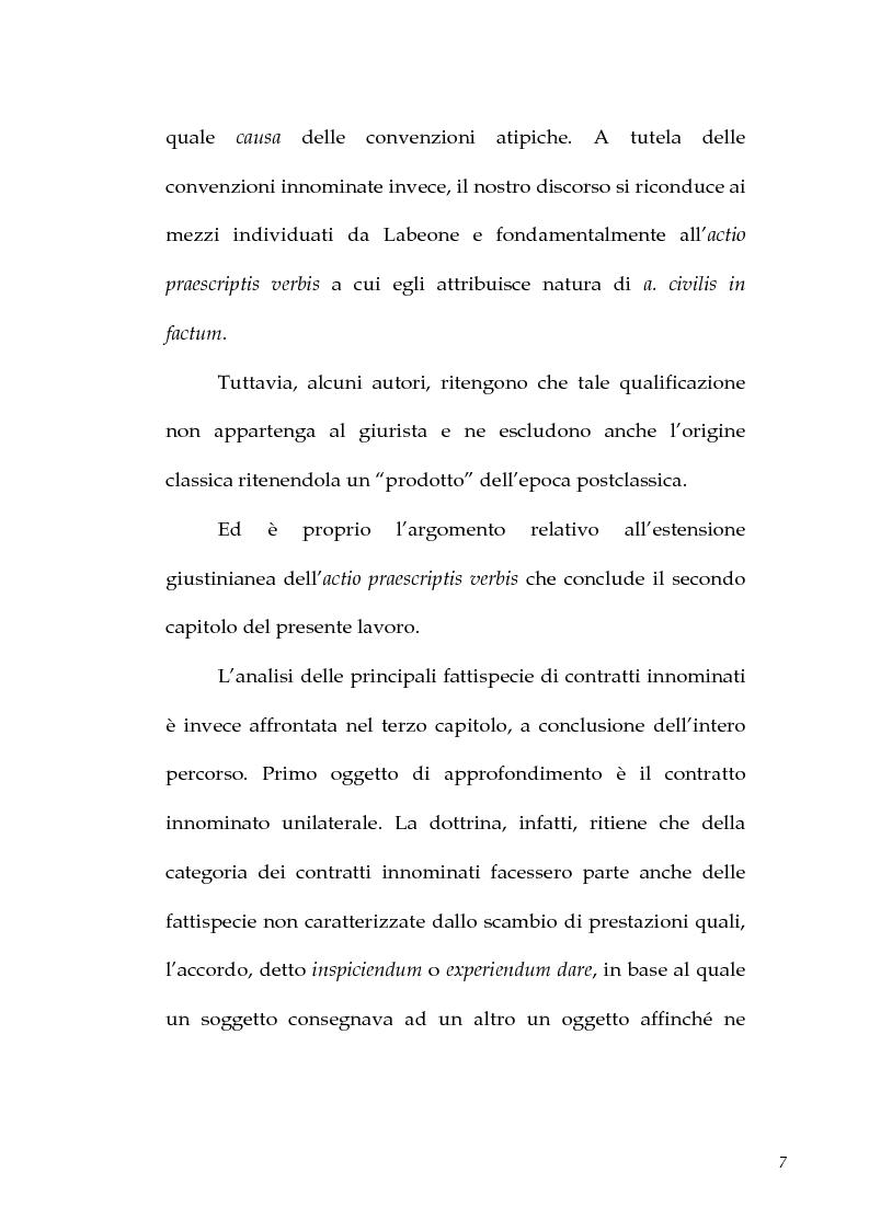 Anteprima della tesi: I contratti atipici nella recente dottrina romanistica, Pagina 5