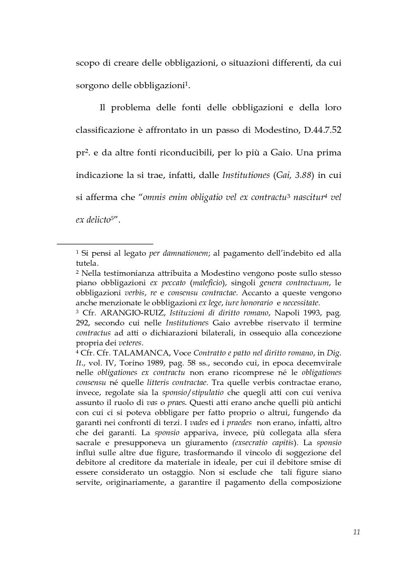 Anteprima della tesi: I contratti atipici nella recente dottrina romanistica, Pagina 9