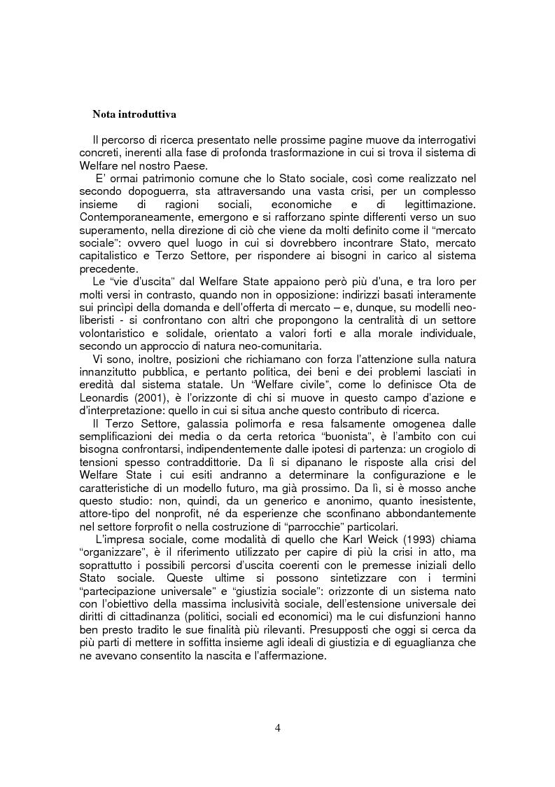 Anteprima della tesi: Leoncavallo: un'impresa per la qualità sociale, Pagina 1
