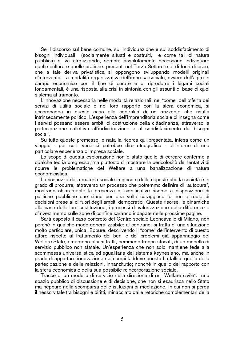 Anteprima della tesi: Leoncavallo: un'impresa per la qualità sociale, Pagina 2