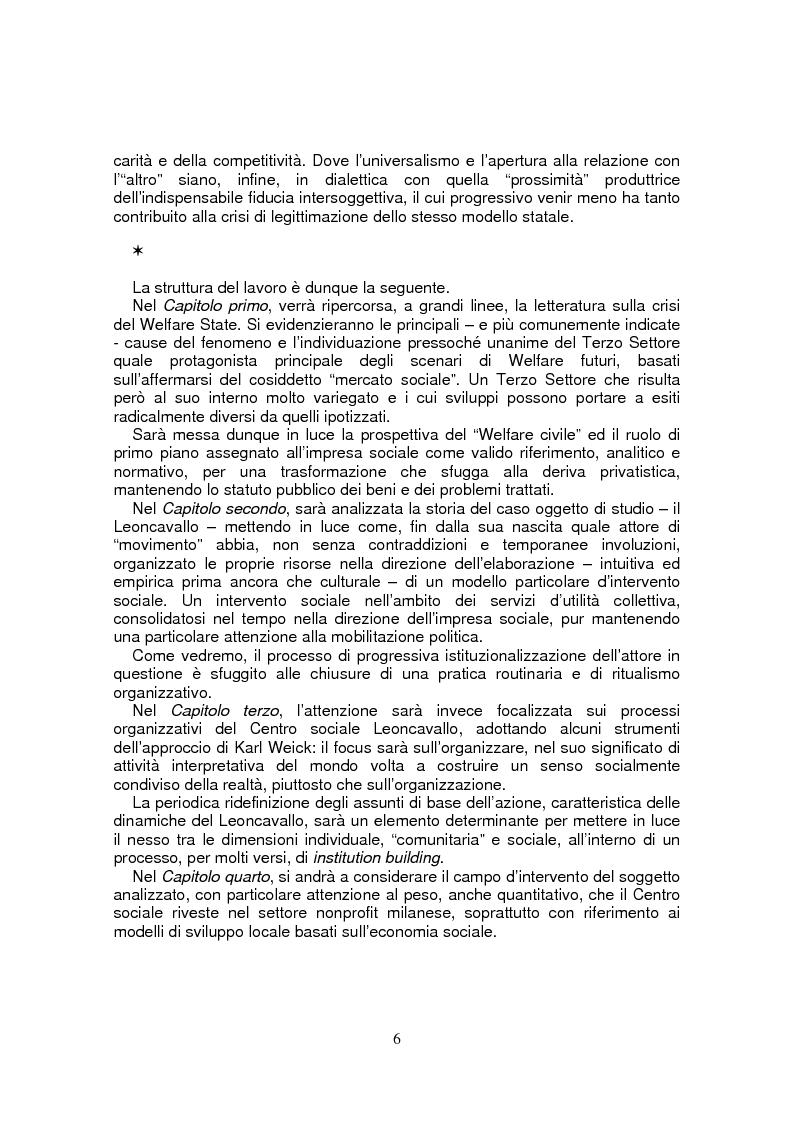 Anteprima della tesi: Leoncavallo: un'impresa per la qualità sociale, Pagina 3