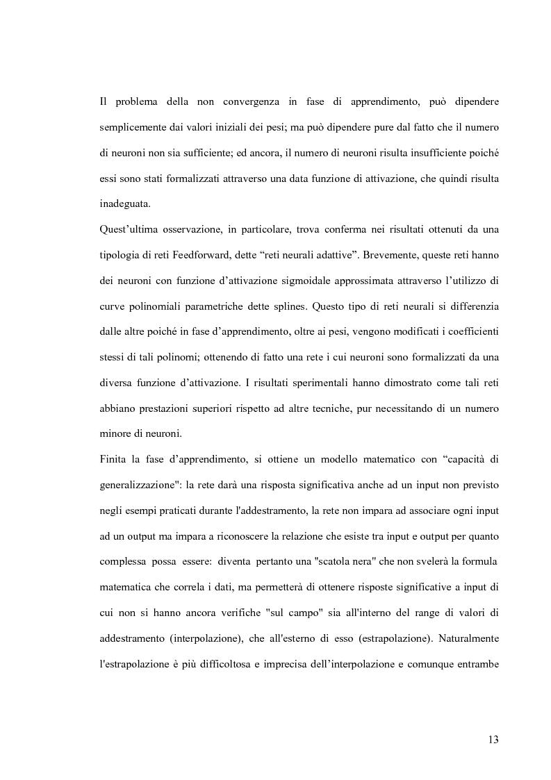 Anteprima della tesi: Tool di interfacciamento Neural Works - Matlab, progettazione e simulazione chip NeuroLAB, Pagina 13