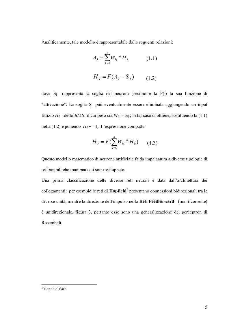 Anteprima della tesi: Tool di interfacciamento Neural Works - Matlab, progettazione e simulazione chip NeuroLAB, Pagina 5