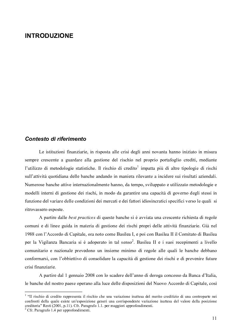 Anteprima della tesi: Prevedere la Loss Given Default nelle banche: fattori rilevanti e downturn LGD. Il caso di Banca Popolare di Sondrio., Pagina 1