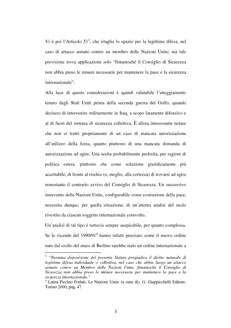 Anteprima della tesi: Il peace-building alla luce della Carta delle Nazioni Unite, Pagina 3