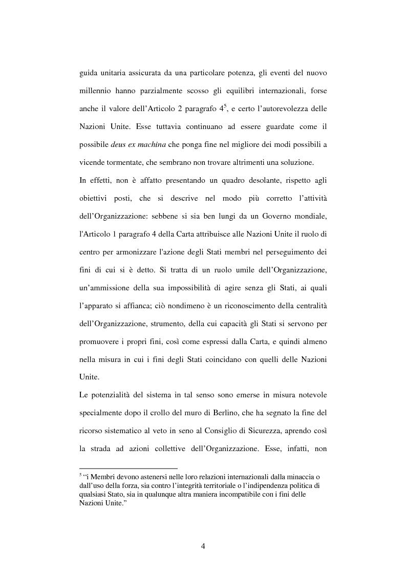Anteprima della tesi: Il peace-building alla luce della Carta delle Nazioni Unite, Pagina 4