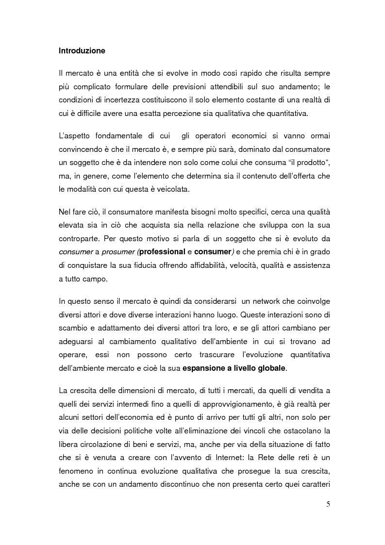 Anteprima della tesi: Il commercio elettronico: definizioni ed analisi ed implicazioni economiche del fenomeno, Pagina 2