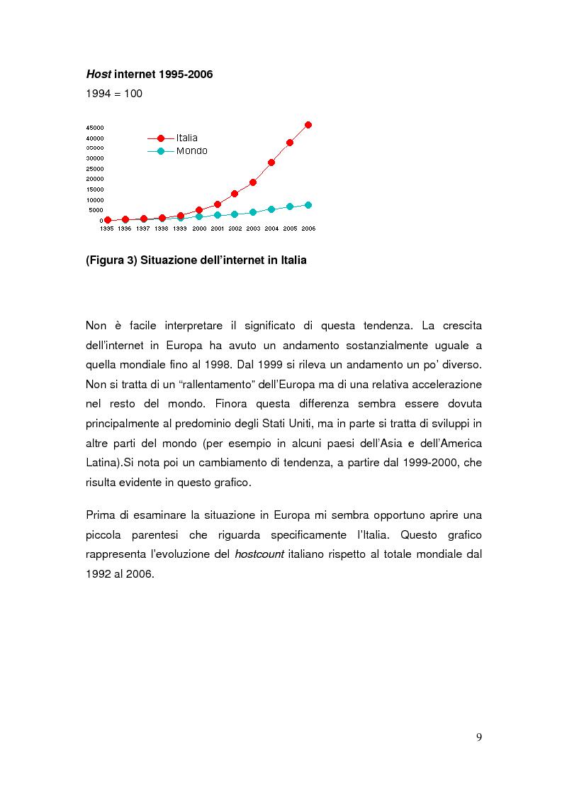 Anteprima della tesi: Il commercio elettronico: definizioni ed analisi ed implicazioni economiche del fenomeno, Pagina 6