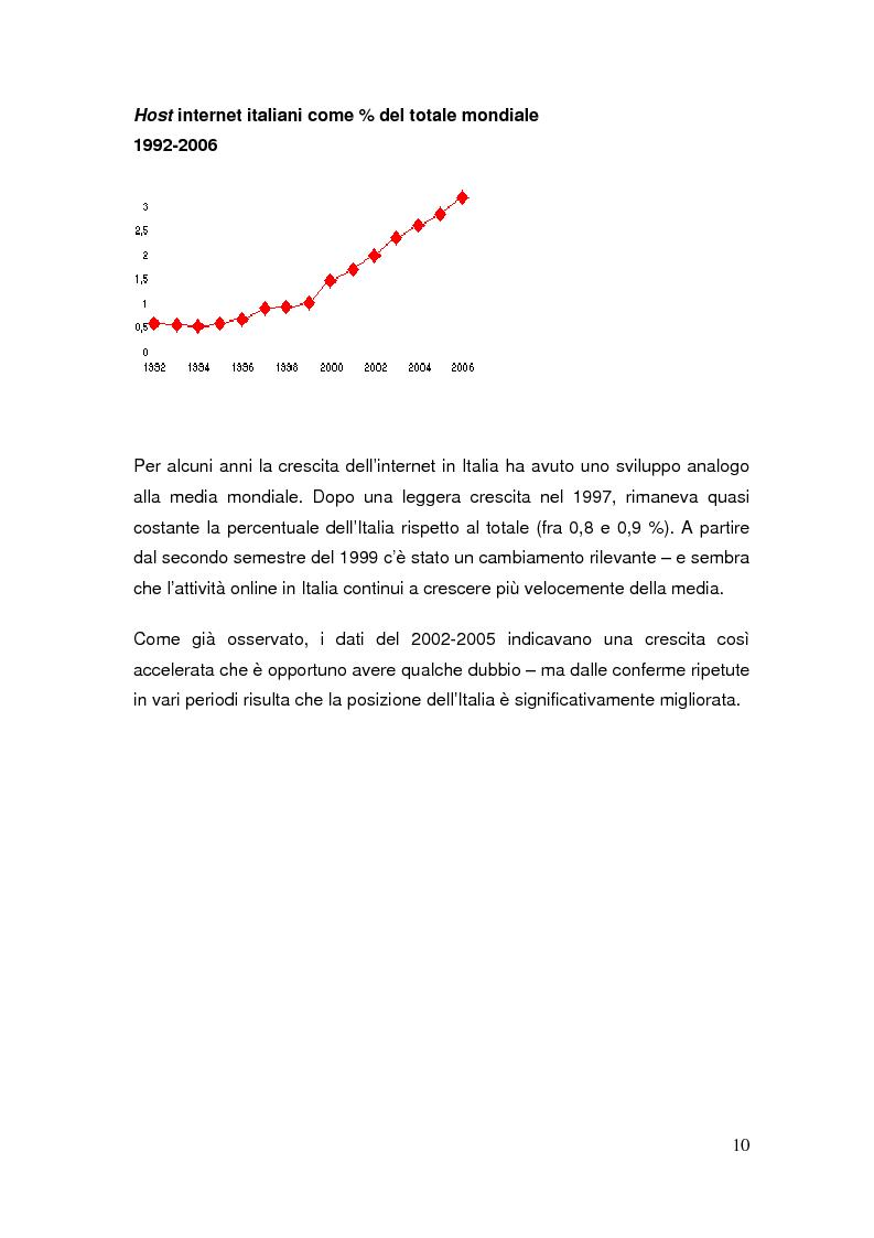Anteprima della tesi: Il commercio elettronico: definizioni ed analisi ed implicazioni economiche del fenomeno, Pagina 7