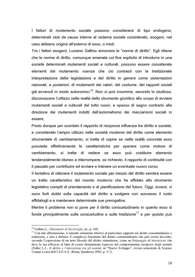 Anteprima della tesi: Il processo di formazione delle norme legislative tra stabilità e mutamento: il caso della riforma penitenziaria, Pagina 14