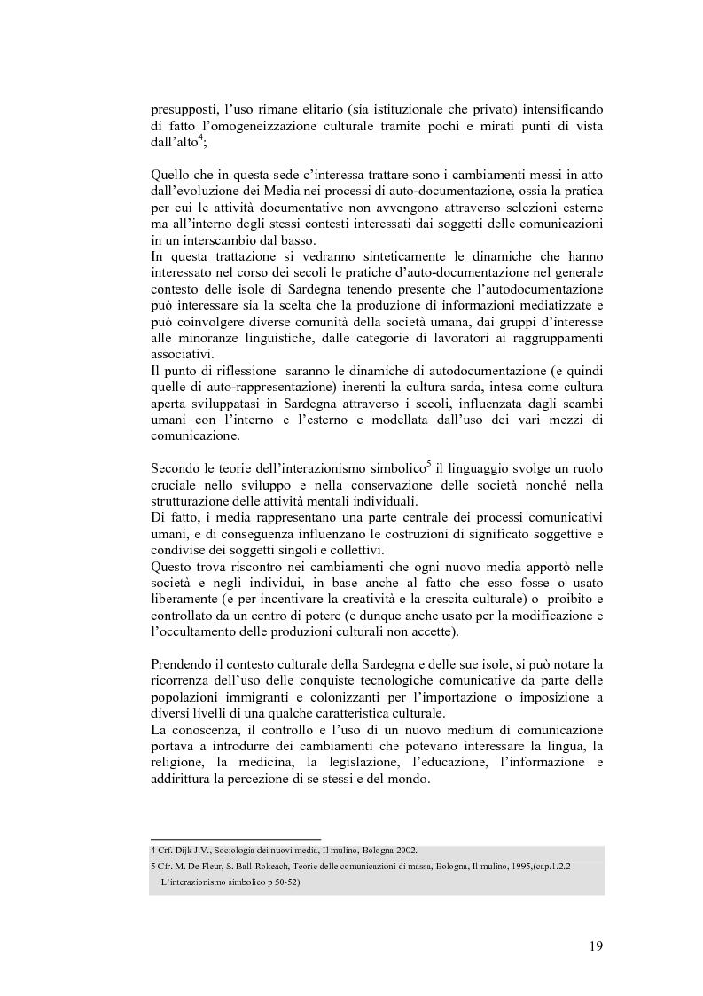 Anteprima della tesi: SARDignità. Interiorizzazioni mediatiche e pratiche autorappresentative in Sardegna., Pagina 9