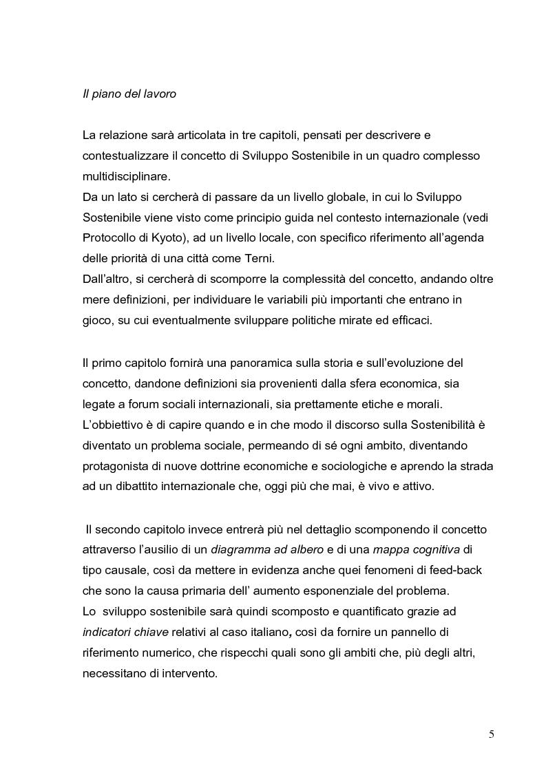 Anteprima della tesi: Lo sviluppo sostenibile - Etica e politica per un futuro possibile, Pagina 5