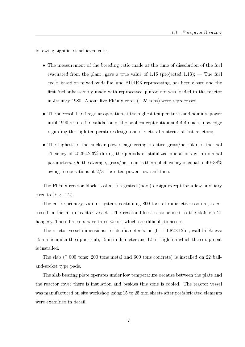 Anteprima della tesi: Innovative Steam Generator for Sodium-Cooled Fast Reactors, Pagina 7