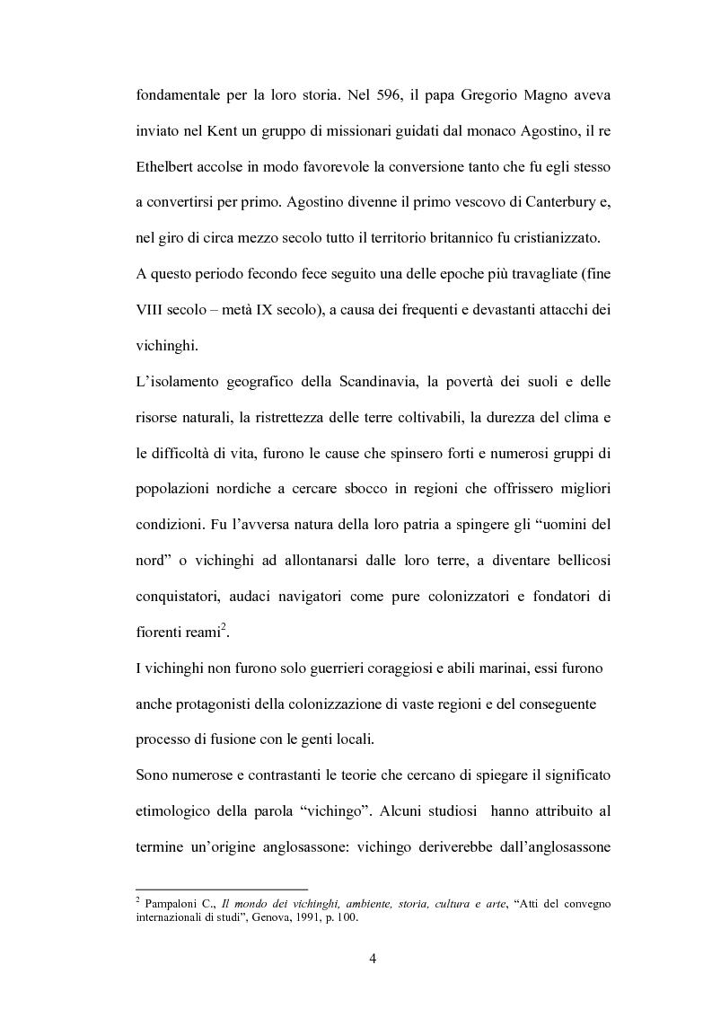 Anteprima della tesi: La battaglia di Brunanburh, Pagina 3