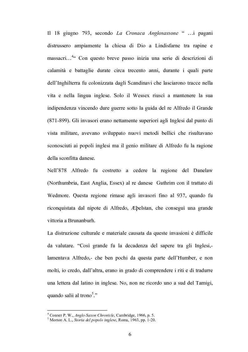 Anteprima della tesi: La battaglia di Brunanburh, Pagina 5