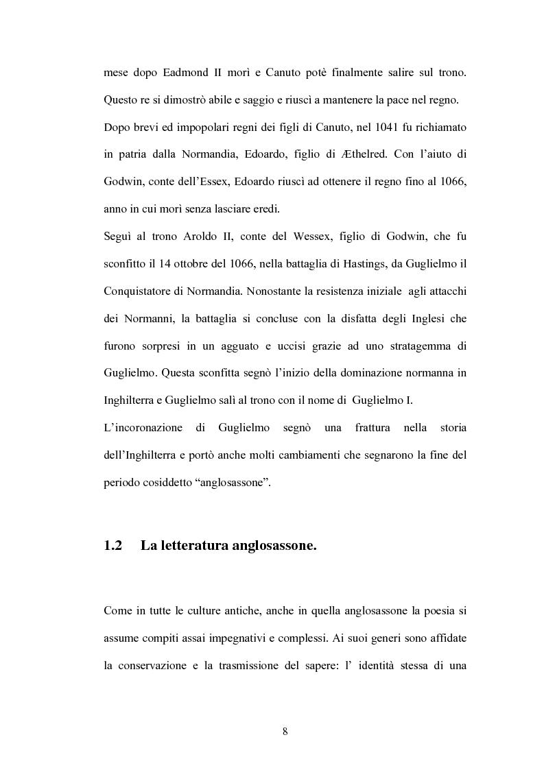 Anteprima della tesi: La battaglia di Brunanburh, Pagina 7