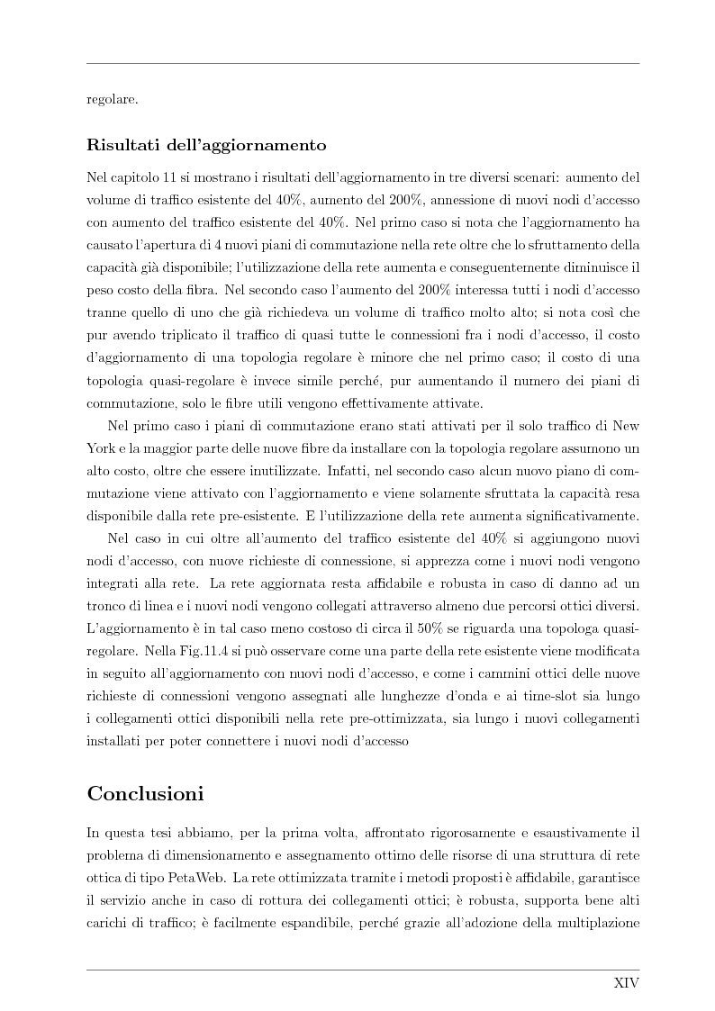 Anteprima della tesi: Design and Optimisation of a Novel Composite-Star TDM/WDM Network Architecture: the Petaweb, Pagina 12