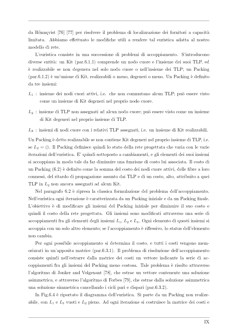 Anteprima della tesi: Design and Optimisation of a Novel Composite-Star TDM/WDM Network Architecture: the Petaweb, Pagina 7