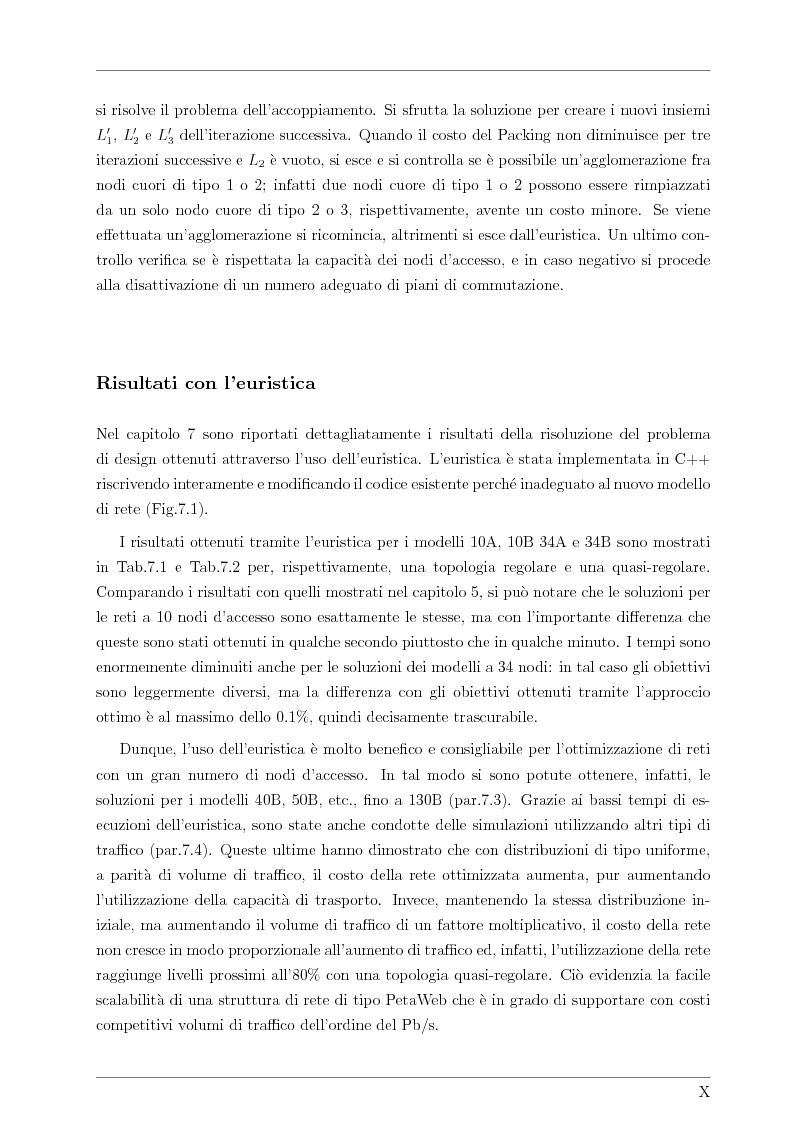 Anteprima della tesi: Design and Optimisation of a Novel Composite-Star TDM/WDM Network Architecture: the Petaweb, Pagina 8
