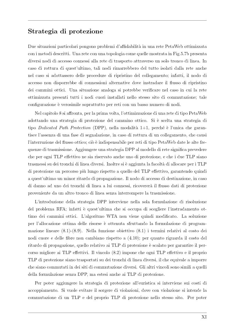 Anteprima della tesi: Design and Optimisation of a Novel Composite-Star TDM/WDM Network Architecture: the Petaweb, Pagina 9